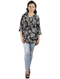 Gugg Women's Self Design TOP [GS16A73_BLACK]
