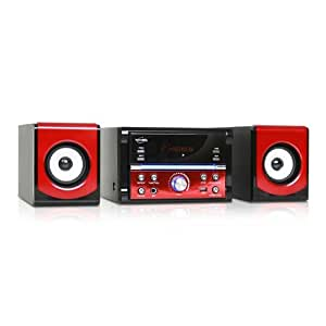inovalley ch10cd mini chaine hifi avec lecteur cd mp3 high tech. Black Bedroom Furniture Sets. Home Design Ideas