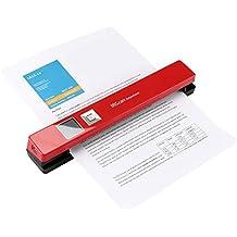IRIScan Anywhere 5 – Escáner compacto y portátil, USB, batería, 300/600