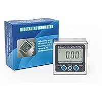 Caja biselado gemred inclinómetro Digital transportador de ángulos 12 meses garantía