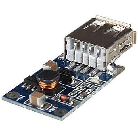 Piteng?convertitore DC-DC 3v al caricatore 5v 0.7a usb e intensificare