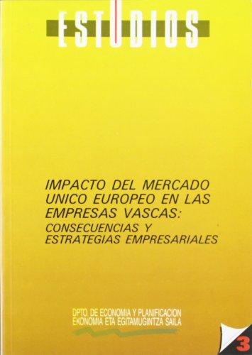 (3.zka) impacto del Mercado unico europeo en euskadi (Estudios) por VV. AA.