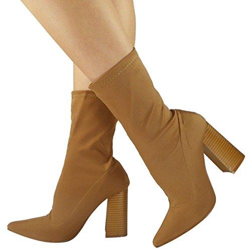 Shoesdays, Damen Stiefel & Stiefeletten  schwarz schwarz 35.5 Mokka