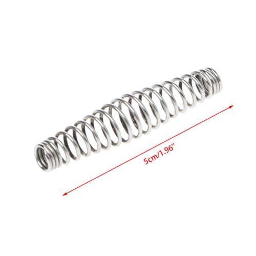 showkingL Qualitäts-Stahl-Druckfeder-Gartenschere-Zubehör Werkzeug