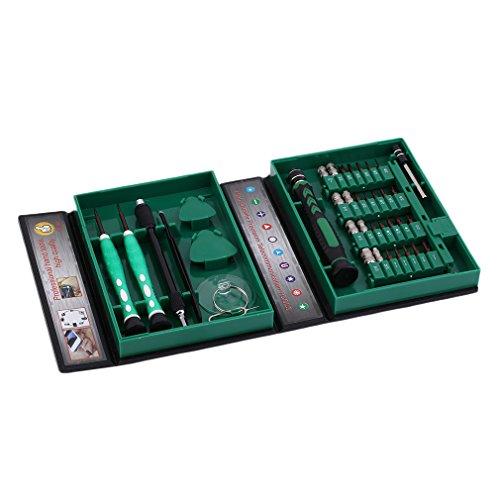 Durable 38 Pcs/Set Tournevis Set De Précision Multipurpose Manchon Vis Outils De Réparation Électronique Kit Pour Téléphone Portable
