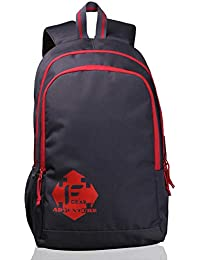 F Gear Castle GR 24 Ltrs Red Casual Backpack (2263)