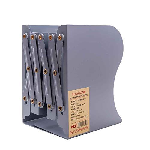 Morza Retractable Holder Book Rack scalabile leggii Metallo Ferro Bookshelf telescopico Desktop Libro Bagagli