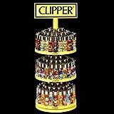 Clipper - 4 Accendini, decorazioni assortite