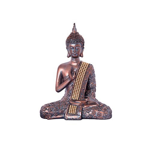 ecraftindia handcrafted meditating lord buddha polyresin idol (15 cm x 7.5 cm x 20 cm, brown) eCraftIndia Handcrafted Meditating Lord Buddha Polyresin Idol (15 cm x 7.5 cm x 20 cm, Brown) 41p8vl1Ad8L