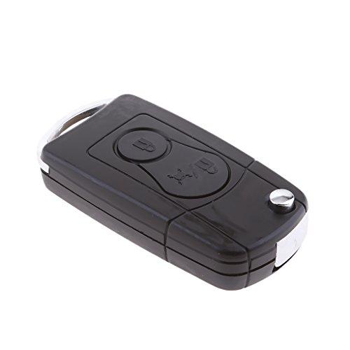 MagiDeal Housse de Voiture Clé Fob Key 3 Button Pour Ssangyong Actyon Kyron Rexton