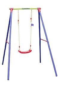 Hudora 64018 columpio para bebés - Columpios para bebés (3 año(s), 50 kg, 1700 mm, 2000 mm, 2050 mm, 17 kg)