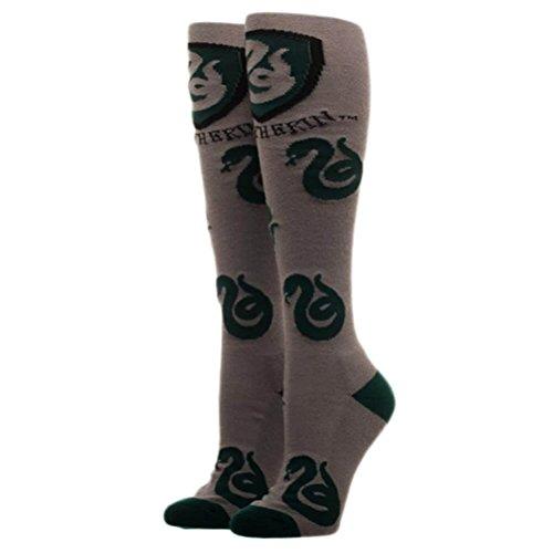 Harry Potter Houses Juniors/Womens Knee High Socks - Slytherin