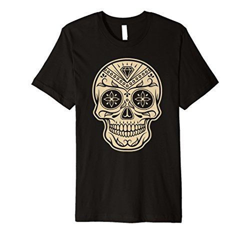 Tag der Toten Halloween Mexiko Sugar Skull T-Shirt