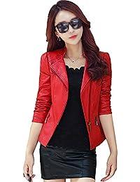 Amazon.es: chaquetas rojas - 32 / Ropa de abrigo / Mujer: Ropa