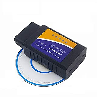 NiceCheck Elm327 WiFi Wireless OBD2 V1.5 WiFi Auto Diagnosegerät Check Engine Light OBDII Wireless Code Reader für Android und iOS Geräte