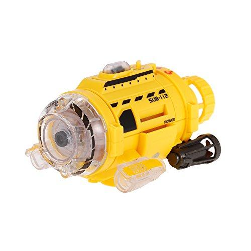 Goolsky Infrarotkontrolle SpyCam Aqua RC Submarine mit 0.3MP Kamera und Licht RC Spielzeug für Kinder