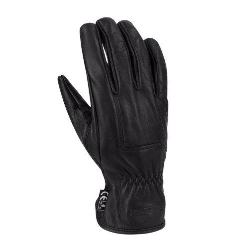 Bering-Coppia di guanti moto uomo Mexico Perfo, Nero, Taglia L