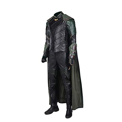 Glam Cos Tom Hiddleston Thor 3 Loki Männliches Cosplay Kostüm - - Medium