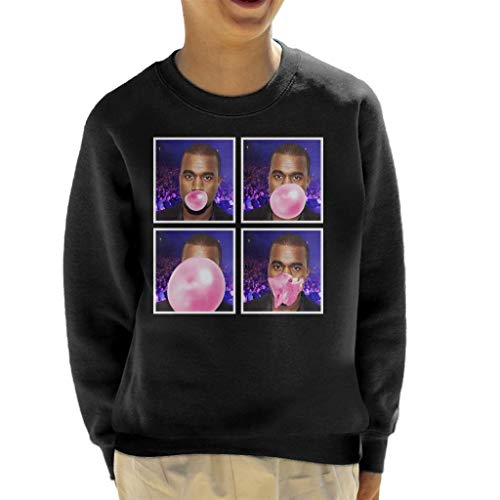 Cloud City 7 Kanye West Bubblegum Kid's Sweatshirt