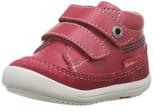 Kickers Baby Jungen Kimono Stiefel, Rot (Rouge 4), 23 EU