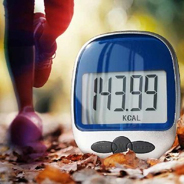 Atoz prime Large Display Jogging Step Pedometer Walking Calorie Distance Counter