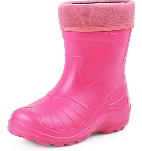 Ladeheid Children´s EVA Extra Light Wellington Boots Rainy Wellies Rain Boots KL050