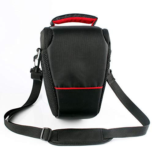 YELLOL Dreieck Kameratasche tragbare SLR-Kamera einzelne Schulter Diagonale für Canon Nikon SLR-Kameratasche