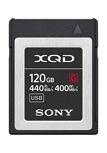 Sony Professional XQD G-Series 120GB Memory Card (QD-G120F) (Pcmcia-ssd)