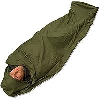 Andes Olive Green Waterproof Bivvy Bag Sleeping Bag Cover Camping Fishing, Taped Seams, 235 x 85cm