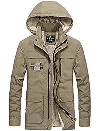 Winter Military Jacken Wollmantel Dicke warme Fleece Liner Mantel große  Größe 4XL Outwear 3b9a141d1b