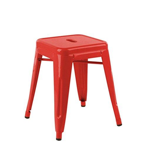 mueblespacio Replica taburete tolix mini - MSD151526011 - Rojo