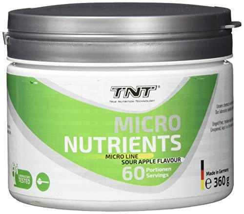Multivitamin Pulver hochdosiert mit 23 Vitamine & Mineralien - Superfood Vitamin-Komplex / 360g SOUR APPLE