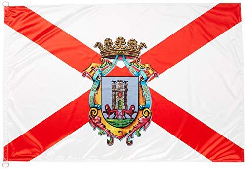 BPH Vitoria Flagge, rot und weiß, 100x 150cm