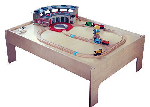 Birke Holz Kinder Zug Tisch