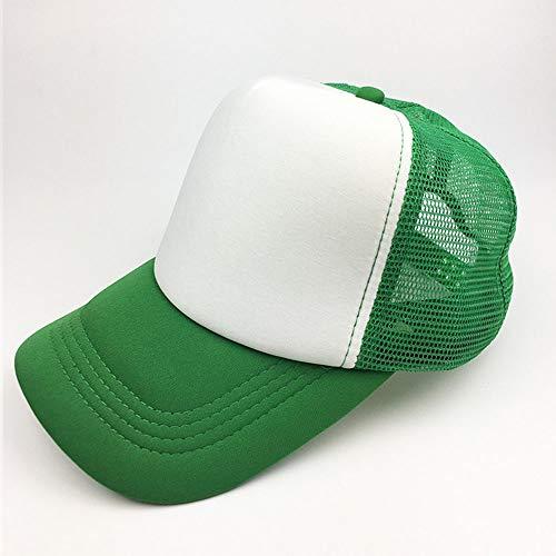 HENLOOO Baseball-Mützen für Herren und Damen, Klassische Sonnenhüte im Freien,Green - Herren Disney Vintage Micky Maus