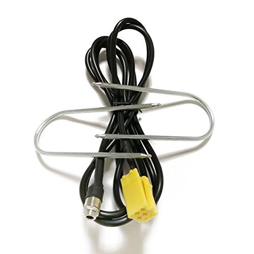 Nrpfell Autoradio Zusatzkabel Mini ISO 6Pin Aux Adapterkabel mit Radio Entfernung Werkzeuge Fuer FIAT Grande Punto Alfa Romeo