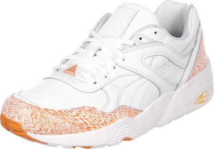 Puma R698 Snow Splatter Pack Schuhe Weiß