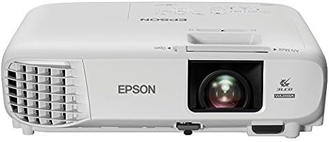 Epson EB-U05 WUXGA 3LCD-Projektor (1920x1200p, 16:10, 3.400 Lumen Weiß- und Farbhelligkeit, Lampenlebensdauer bis zu 10.000 h im Sparmodus)