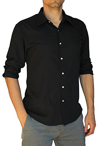 BANQERT Herren Langarmhemd