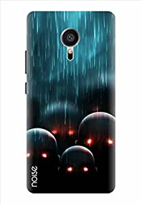 Noise Black Rain Printed Cover for Meizu Mx5 Pro