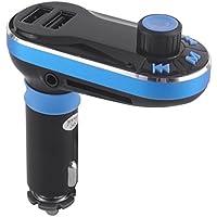 komrt Wireless Bluetooth Trasmettitore FM caricabatteria da auto Lettore MP3vivavoce