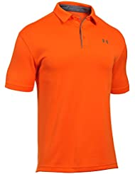 Under Armour Polo de manga corta para hombre, hombre, color Team Orange, tamaño XL