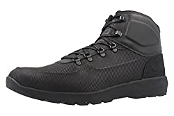Timberland Mens Westford Mid Emboss Hiking Boot Black Size 8