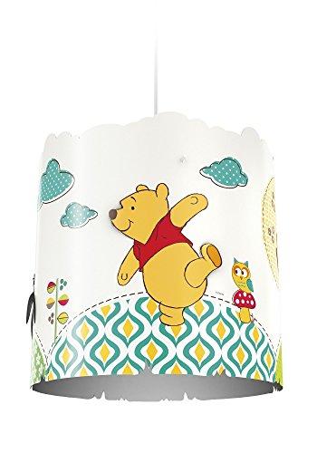 Philips Disney Abat-jour suspension en plastique pour enfant Motif Winnie l'ourson