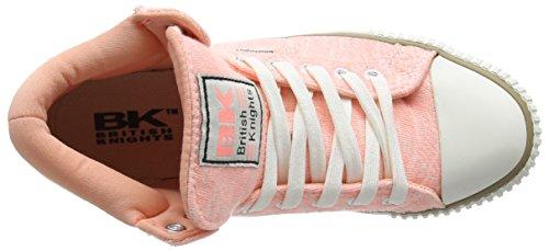 British Knights - Dee, Sneaker alte Bambina Rosa (Pink (Lt Peach 04))