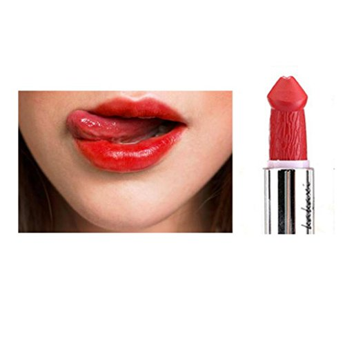 �re Penis Form Lippenstift Pilz Vampir Kuss Lipgloss Hot Sales (Frauen Vampir Make Up)