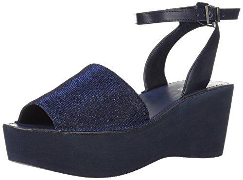 Kenneth Cole Reaction Women's Dine with Me Eva Platform Ankle Strap Wedge Sandal