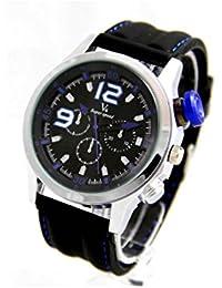 V6 Montre Homme MONTRE2431-2 - Reloj , correa de silicona color negro