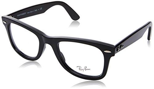 152869d2cb Ray-Ban 0rx 4340v 2000 50 Monturas de gafas, Shiny Black, Unisex-