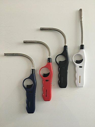 Encendedor Gas electrónico cuello flexible metal